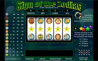 Sign Of The Zodiac Slot Machine